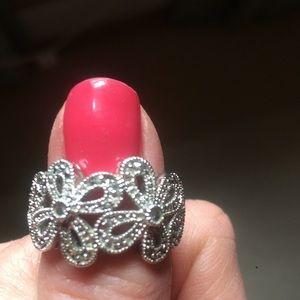 Lia Sophia daisy ring